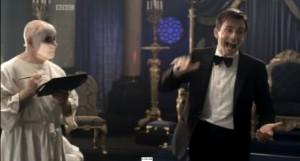 David Tennant (2009) vertelt de acteurs hoe ze moeten acteren